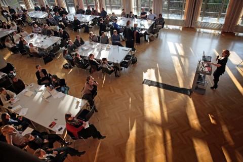 TU Dresden 2. Career Day - Berufsperspektiven fŸür Promovierte 16. Dezember 2015 Foto: © Matthias Schumann