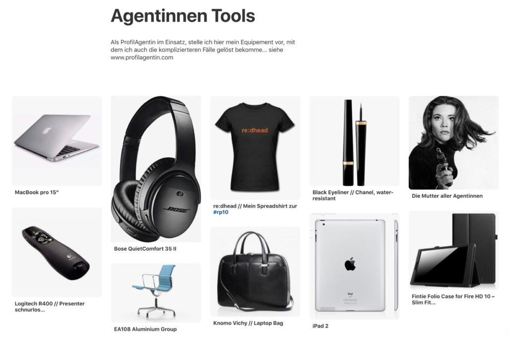 Agentinnen-Tools