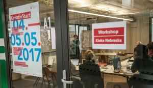 Profilworkshop mit Kixka Nebraska auf der Kreativstart 2017. Foto: Nancy Fischer