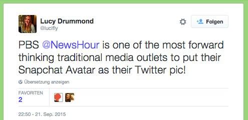 Lucy Drummond auf Twitter