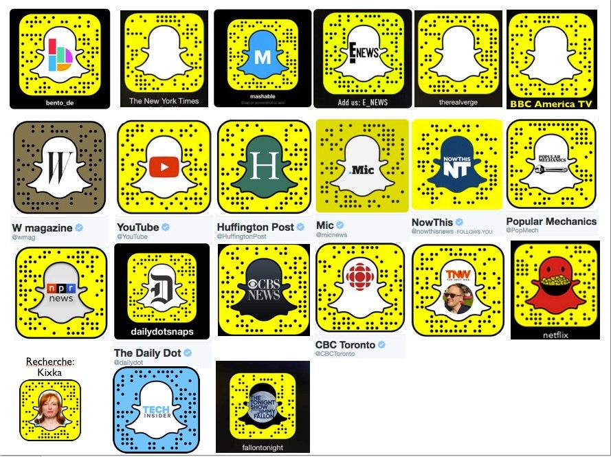 Media Snapcodes Medien Profilagentin Kixka Nebraska Snapchat