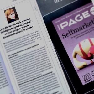 PAGE 2014 Interview Profilagentin Kixka